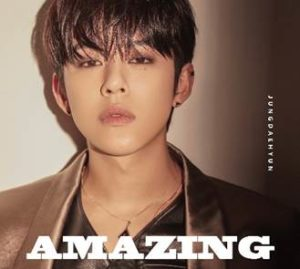 JUNG DAEHYUN Japan 1st Single 「AMAZING」